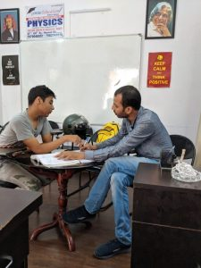 Group tuition for physics in dwarka 12th
